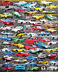 50 Years of Mustangs Jigsaw Puzzle