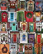 Holiday Doors Jigsaw Puzzle
