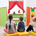 Children's Puppet Theaters & Stands