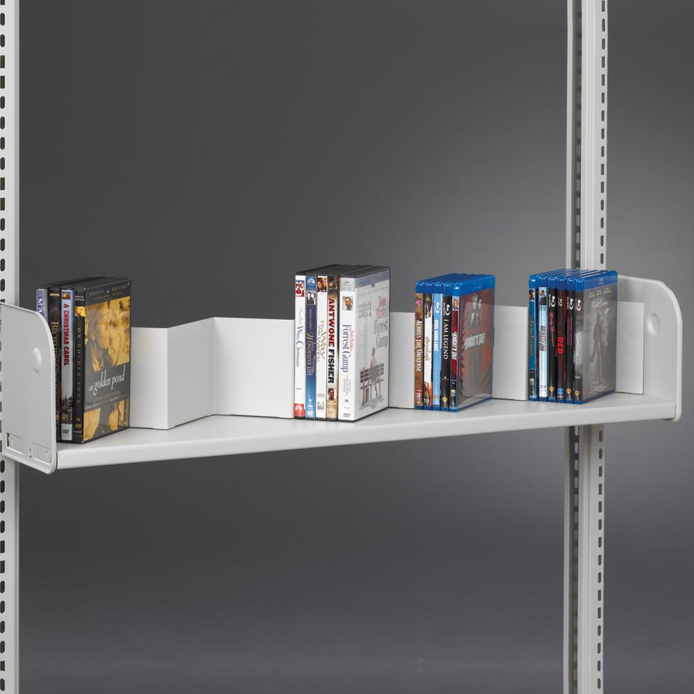 estey® Steel Cantilever Zig Zag Display Shelf