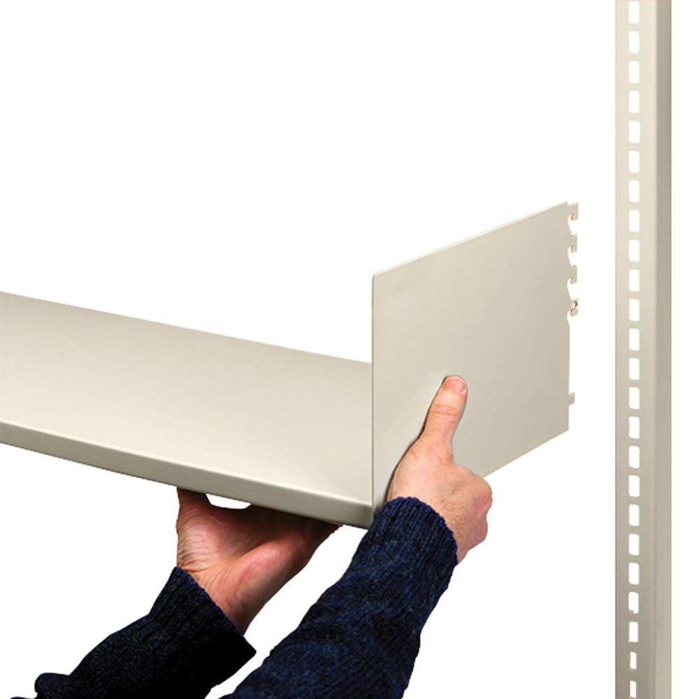 estey® Steel Designer Cantilever Shelves