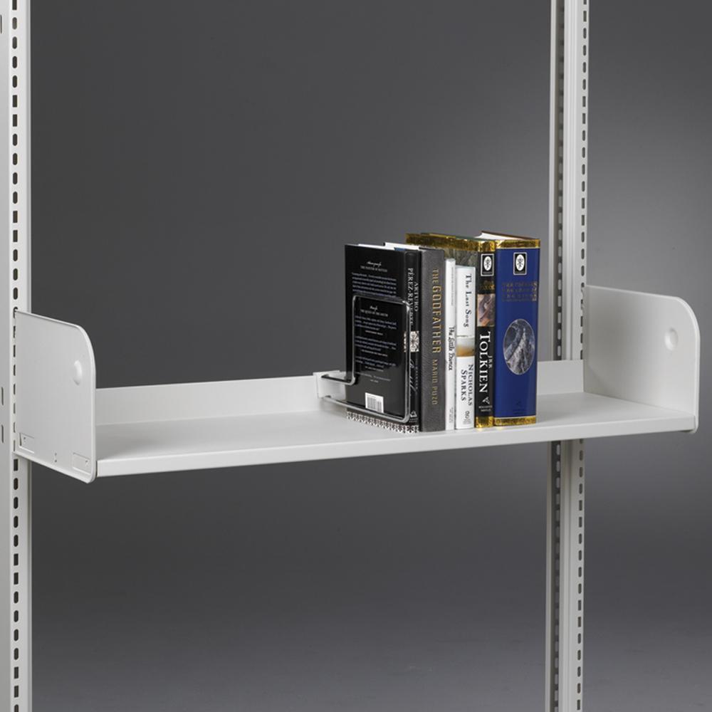estey® Steel Cantilever Library Shelving - Integral Back Shelves