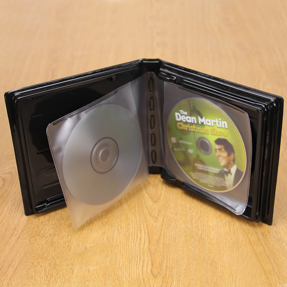 CD-DVD Album w/ Unlined Side - Loading Pages - 2 Disc