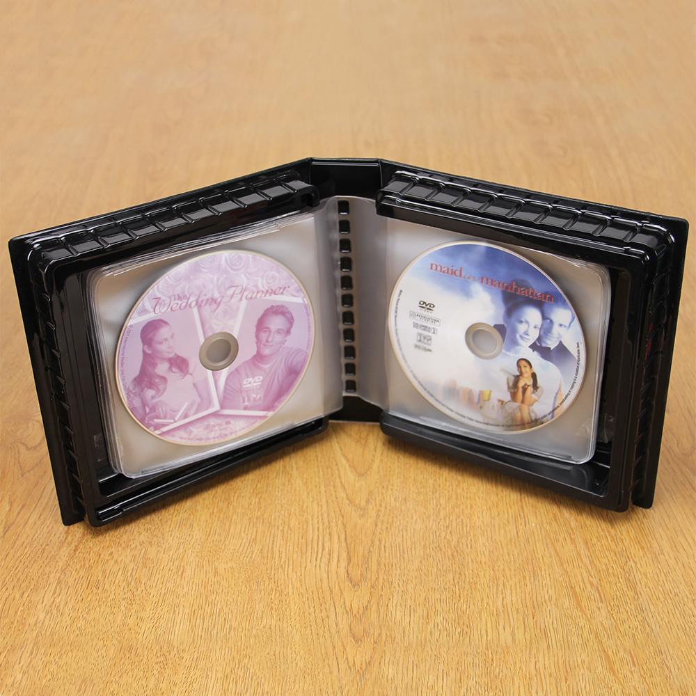 CD-DVD Album w/ Unlined Side - Loading Pages-18 Disc