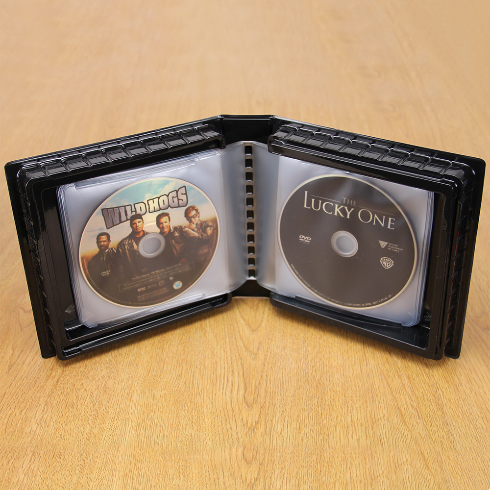 CD-DVD Album w/ Unlined Side - Loading Pages - 24 Disc