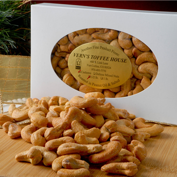 1/2 lb Roasted Colossal Cashews