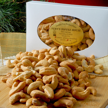 1 lb Roasted Colossal Cashews--SORRY! Sold Out
