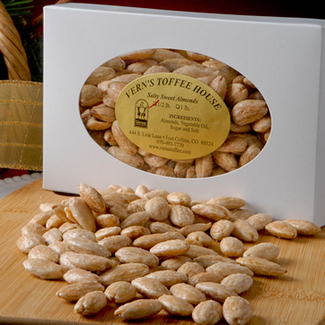 1/2 lb Salty Sweet Almonds