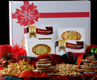 Gift Assortment of Toffee, Almonds & Cashews--BACKORDERED, Available to ship 11/25/19