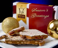1 lb Seasons Greetings Toffee Box Milk Choc