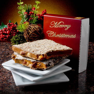 1/2 lb Christmas Toffee Box - 6 Pack