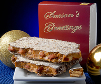 1/2 lb Seasons Greetings Toffee Box - 6 Pack