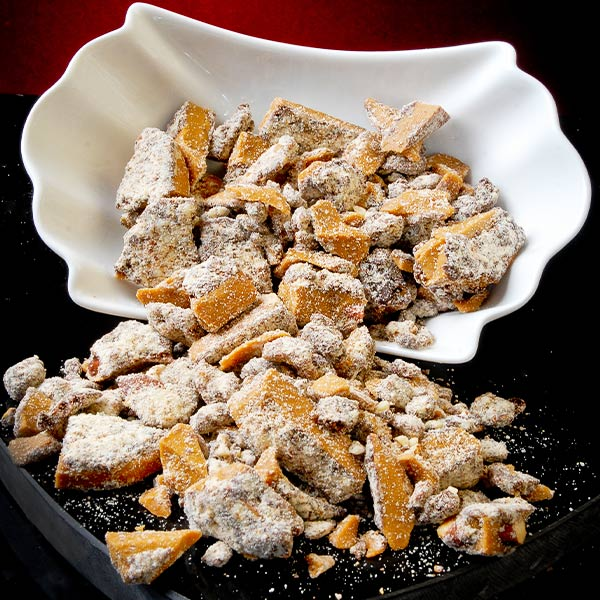 Almond Toffee Toppings - 1 lb Bag SORRY! Sold Out