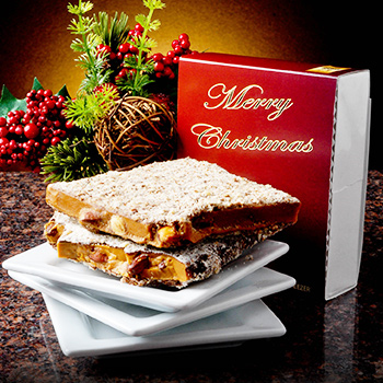 1/2 lb Christmas Toffee Box - 6 Pack