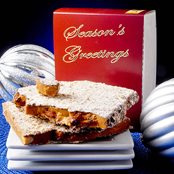 1/2 lb Seasons Greetings Toffee Box - 6 Pack