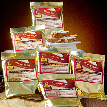 1/4 lb Almond Toffee Bag - 6 pack