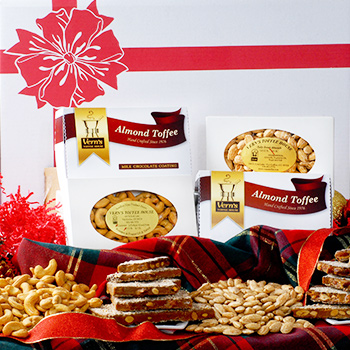 Gift Assortment of Toffee, Almonds & Cashews--SORRY! Sold Out