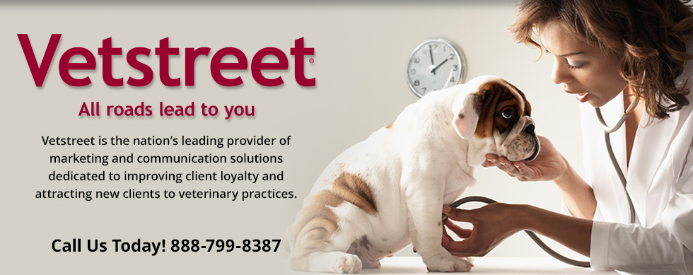 Vetstreet is the nation's leading provider of marketing and communication solutions dedicated to improving client loyalty and attracting new clients to veterinary practices