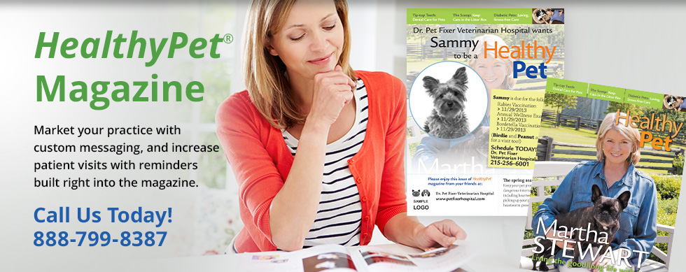 HealthyPet Magazine, reminders that are completely automated