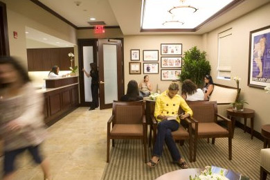 V Spa Vaginal Rejuvenation Center Waiting Room