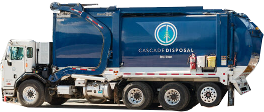 Cascade Disposal Truck