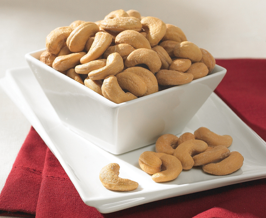 18 oz. Tin Salted Jumbo Cashews