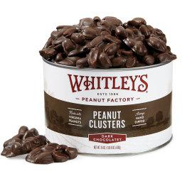 24 oz. Tin Dark Chocolatey Covered Peanut Clusters