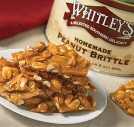 24 oz. Tin Homemade Peanut Brittle