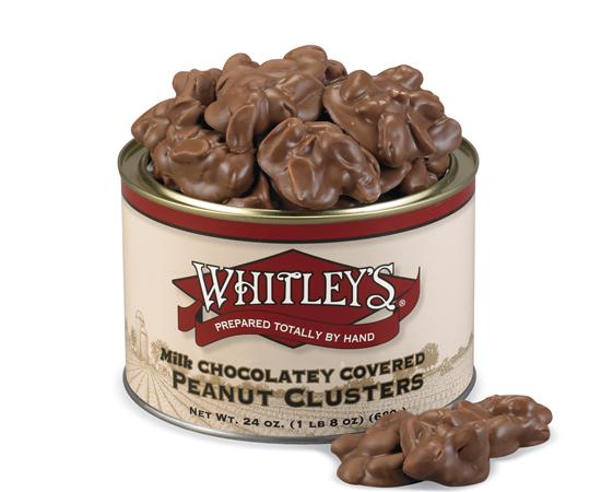 24 oz. Tin Milk Chocolatey Peanut Clusters