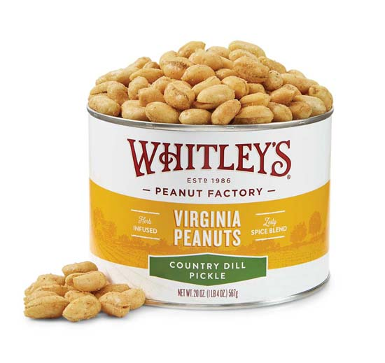 20 oz. Tin Country Dill Pickle Virginia Peanuts