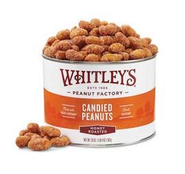 20 oz. Tin Honey Roasted Virginia Peanuts