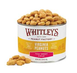 NEW! 20 oz. Tin Thai Sweet Chile Virginia Peanuts