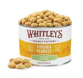 NEW! 20 oz. Tin Wasabi Ginger Virginia Peanuts
