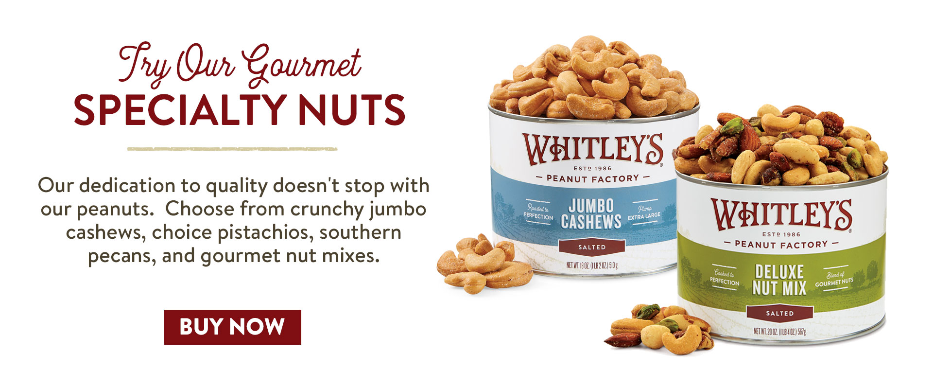 Buy Gourmet Specialty Nuts Here