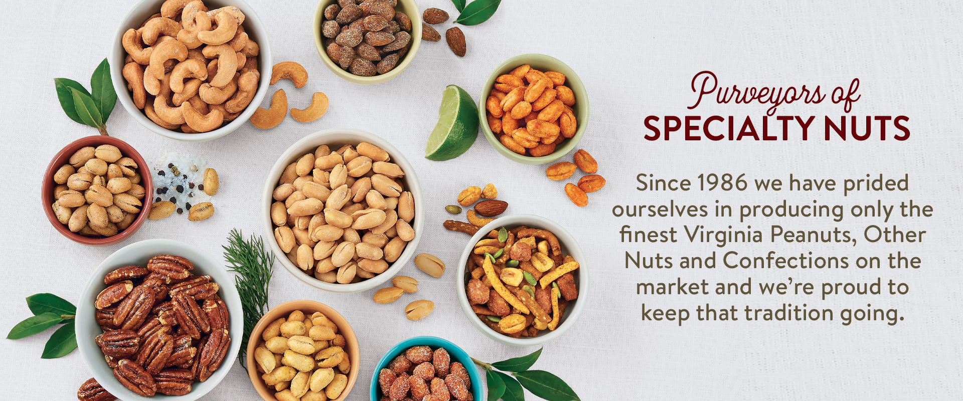 Purveyors of Specialty Nuts