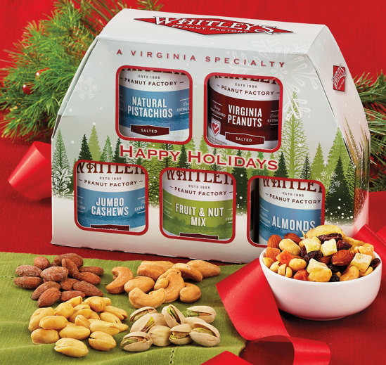 """Whitley's 5 Pack  """"Wittle"""" Tins Holiday Box"""