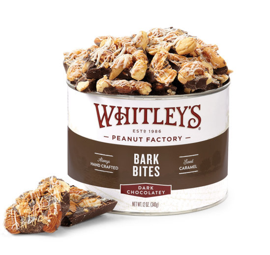 Dark Chocolatey Bark Bites