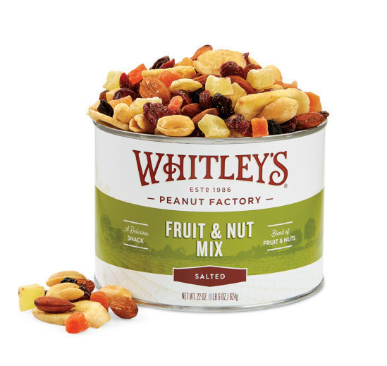 Case 12 - 22 oz Tins Fruit & Nut Mix