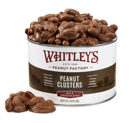 Milk Chocolatey Covered Peanut Clusters
