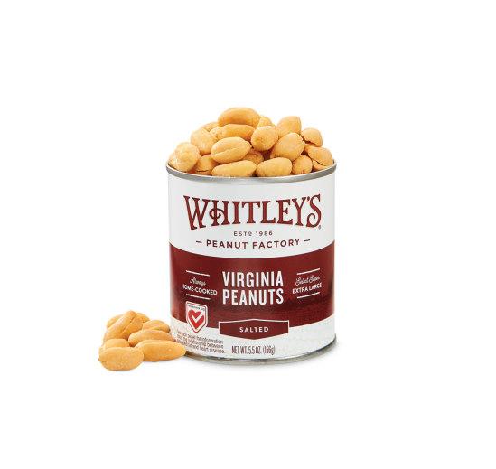 Case 20 - 5.5 oz. Tins Salted Virginia Peanuts
