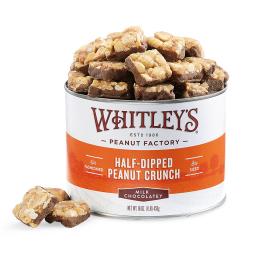 NEW! Half-Dipped Milk Chocolatey Peanut Crunch