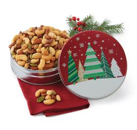 New! Holiday Trees Gift Tin