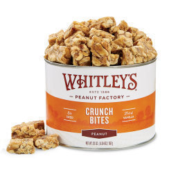 Case 12 - 20 oz. Tins Peanut Crunch Bites