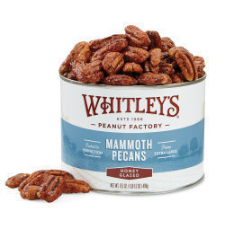Honey Glazed Mammoth Pecans
