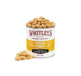 Case 20 - 5.5 oz. Tins Salt & Ground Pepper Peanuts