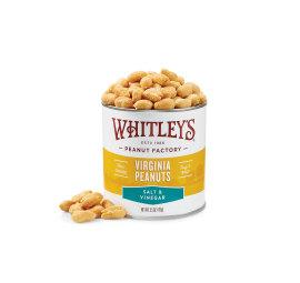Case 20 - 5.5 oz. Tins Salt & Vinegar Virginia Peanuts
