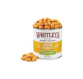 Case 20 - 5.5 oz. Tins Smoky Habanero Chili Lime Virginia Peanuts