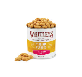 New! Case 20 - 5.5 oz. Thai Sweet Chile Virginia Peanuts