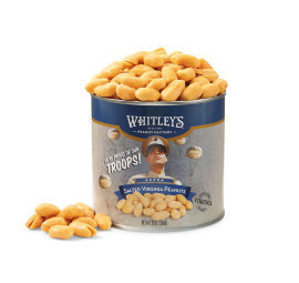 Two 12 oz. Tins Salted Virginia Peanuts