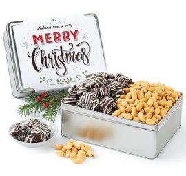 New! Merry Christmas Gift Tin